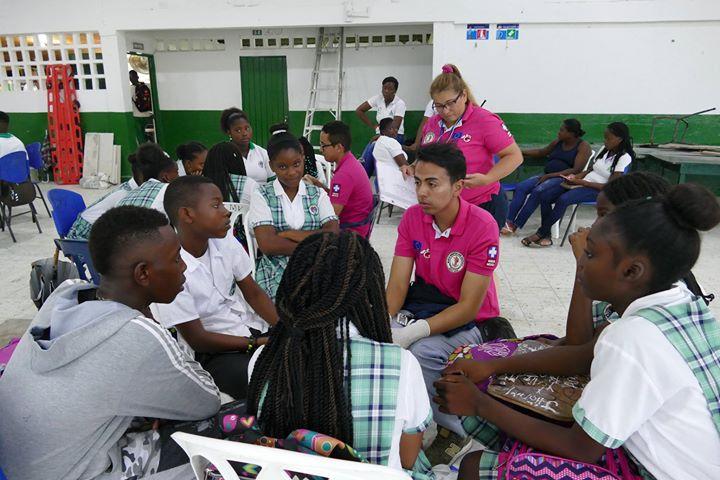 Capacitación en salud sexual y reproductiva en Institución Educativa Manuel de Valverde