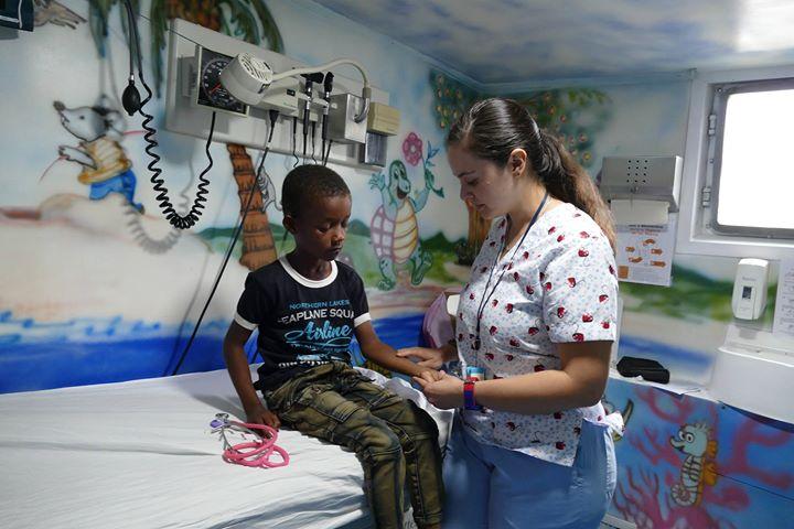 Consulta pediátrica, Charco Nariño